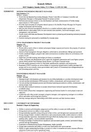 Medium To Large Size Of Engineering Project Manager Resume Samples Velvet Jobs Management Senior Job Description