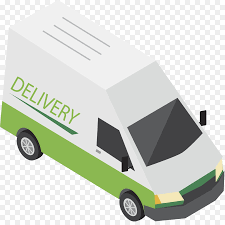 100 Truck Courier Van Transport Logistics Delivery Green Express Truck Png