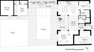 plan de maison en l avec etage 0 plan maison en u avec 3