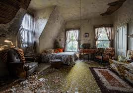 There Are Spread Out Divorce Papers Haunting Photos Peeling Paints Wrecked Walls And Much More That Remain Untouched For About 30 Years
