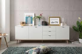 newroom sideboard elia weiß kommode skandinavisch highboard anrichte wohnzimmer kaufen otto