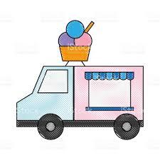 100 Dessert Trucks Food Design Stock Vector Art More Images Of Backgrounds