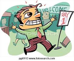 First Day At Job Clipart 1