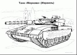 Astounding Military Tank Coloring Pages With And Online