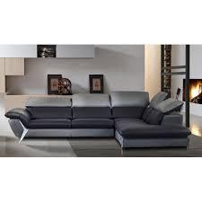 canapé d angle de luxe grand canapé d angle méridienne 6 places cuir haut de gamme