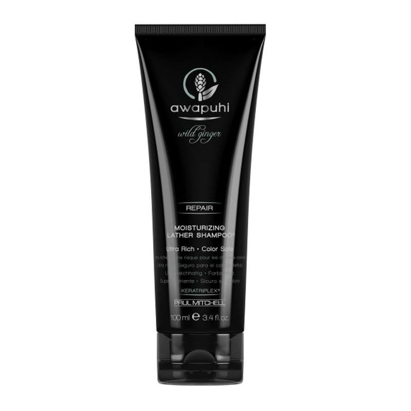 Awapuhi Wild Ginger Moisturizing Lather Shampoo - 3.4oz