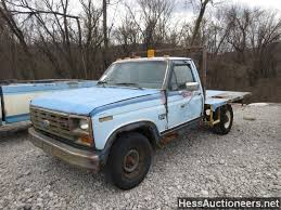 USED 1984 FORD F250 4WD 3/4 TON PICKUP TRUCK FOR SALE IN PA #22273