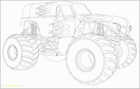 100 Monster Truck Coloring Book Grave Digger Beautiful Grave Digger