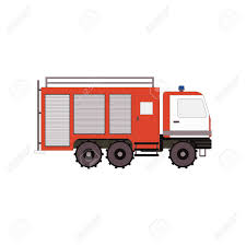 100 Fire Truck Game Videos Truck For Ui App On A White Background Vector
