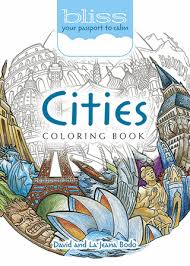 The World Goes Round With This Unique Coloring Book And Its Circular Images Of Cityscapes