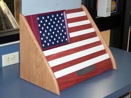American Flag Challenge Coin Holder