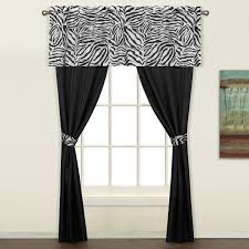 Traverse Rod Curtain Panels by Zebra 5 Piece Decorative Curtain Set By United Curtains Light