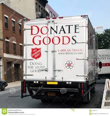 Salvation Army Pick-up Truck. Editorial Photo - Image Of Donate ...
