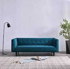 de rubeza connor 1810cc250633 3 sitzer sofa petrol