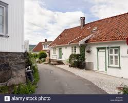 100 Houses In Norway White Traditional Homes Stock Photos White