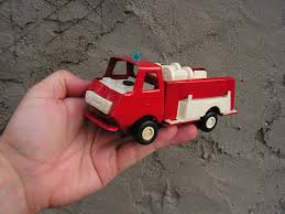 100 Antique Metal Toy Trucks Fire Truck Small Toy Truck Fire Toy Vintage Truck Red Etsy