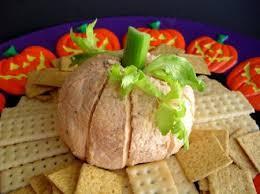 Vomiting Pumpkin Dip by Halloween Appetizers
