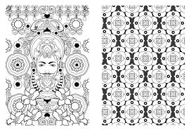Art Therapie Mandala Coloring Book For Adults Relieve Stress Picture Painting Drawing Relax Colouring Books Creative Gifts In From Office School