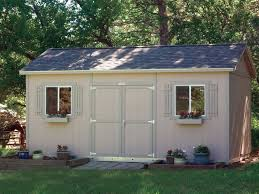 tuff shed garden ranch build shed from plans