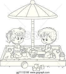 Playground Clipart Sandpit 3