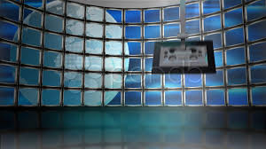 Globe Monitor Virtual Set Background Stock Footage 807258