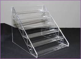 Clear Acrylic 4 5 6 Tier Eyeglass Sunglasses Glasses Display Stand