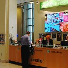 seattle visitors bureau seattle visitor center visitor centers 701 pike st downtown
