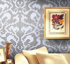 mosaic tile patterns 20x20mm silver glass tile backsplash 2131