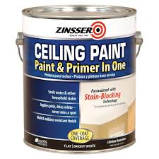 Using A Paint Sprayer For Ceilings by Zinsser 1 Gal Ceiling Paint And Primer In One Case Of 2 260967