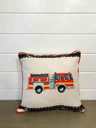 Fire Truck Pillow – BobHyatt Bedding Bunk Beds Perth Kids Double Sheet Sets Pottery Barn Bed Firefighter Wall Decor Fire Truck Decals Toddler Bedroom Canvas Amazoncom Mackenna Paisley Duvet Cover Kingcali King Quilt Fullqueen Two Outlet Atrisl Houseography Firetruck Flannel Set Ideas Pinterest Design Of Crib Town Indian Fniture Simple Trucks Nursery Bring Your Into Surfers Paradise With Surf Barn Kids Firetruck Flannel Pajamas Size 6 William New