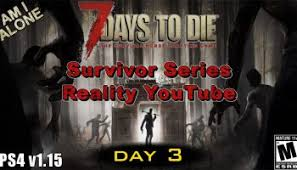 survival series day 1 2 7 days to die puddle duck gaming