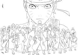 Coloriage Sasuke Naruto à Imprimer Sur COLORIAGES Info