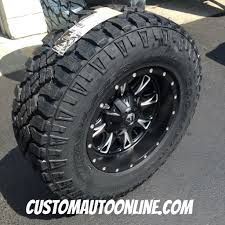Custom Automotive :: Packages :: Off-Road Packages :: 17x9 Fuel ...