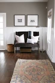Two Tone Walls No Chair Rail by Best 25 Painted Wainscoting Ideas On Pinterest Wainscoting