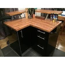 plan de travail d angle cuisine meuble bar cuisine d 39 angle avec plan de travail occasion