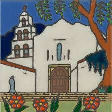 mission tile santa california california missions all products pacific blue tile original