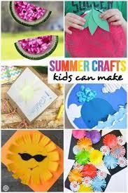 Crafty Kids Summer Crafts