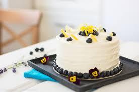 blaubeere zitronen torte mit einer leckeren frischkäsecreme sommerlich zitronig fruchtig frisch