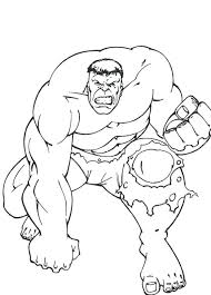 Hulk Coloring Pages Incredible Print Archives Page Sheets Free Lego Avengers Printable Marvel