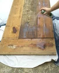 DIY Farmhouse Dining Table With Reclaimed Wood