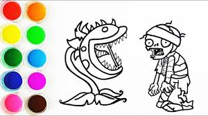 Plants Vs Zombies Printable Coloring Pages Coloring Home