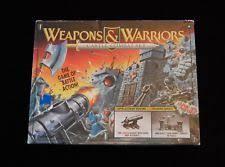 Weapons Warriors Castle Combat Set Pressman Board Game 100 COMPLETE 1994