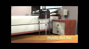 Stander Ez Adjust Bed Rail by Mobility Bed Rail Swing Out Mobility Arm Makes Standing Easier