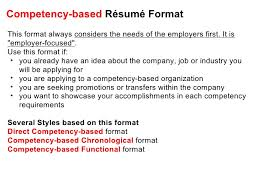 Competencies List For Resume by Effective Cv Resume Writing