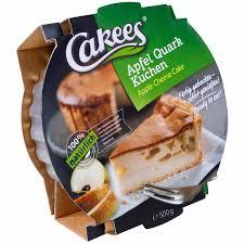 cakees apfel quark kuchen 500g