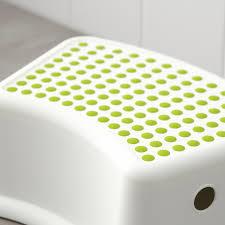 försiktig kinderhocker weiß grün