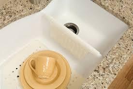 Ceramic Sink Protector Mats by Amazon Com Rubbermaid Sink Divider Mat Bisque Fg1297arbisqu