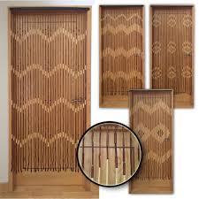 jvl wooden beaded curtain door screen