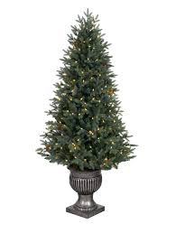 4ft Pink Pre Lit Christmas Tree by Greenwich Estates Pine Artificial Christmas Tree Balsam Hill