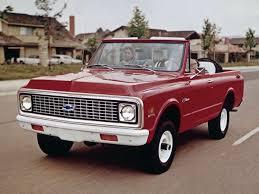100 Blazer Truck 72 K5 Back In The Day S Chevrolet Blazer S
